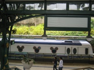 Train to Disneyland